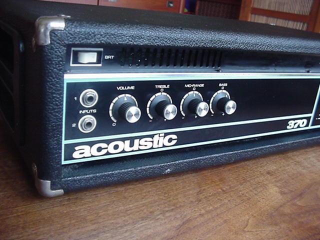 acoustic model 370 basshead r ckkopplung. Black Bedroom Furniture Sets. Home Design Ideas